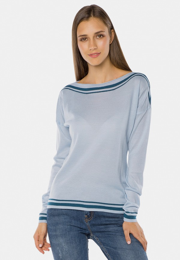женский джемпер mr520, голубой
