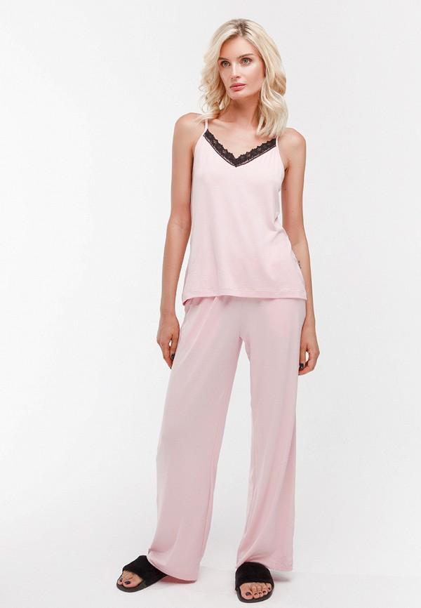 Купить Пижама Dari Co, V - collection, mp002xw1gy1y, розовый, Осень-зима 2018/2019