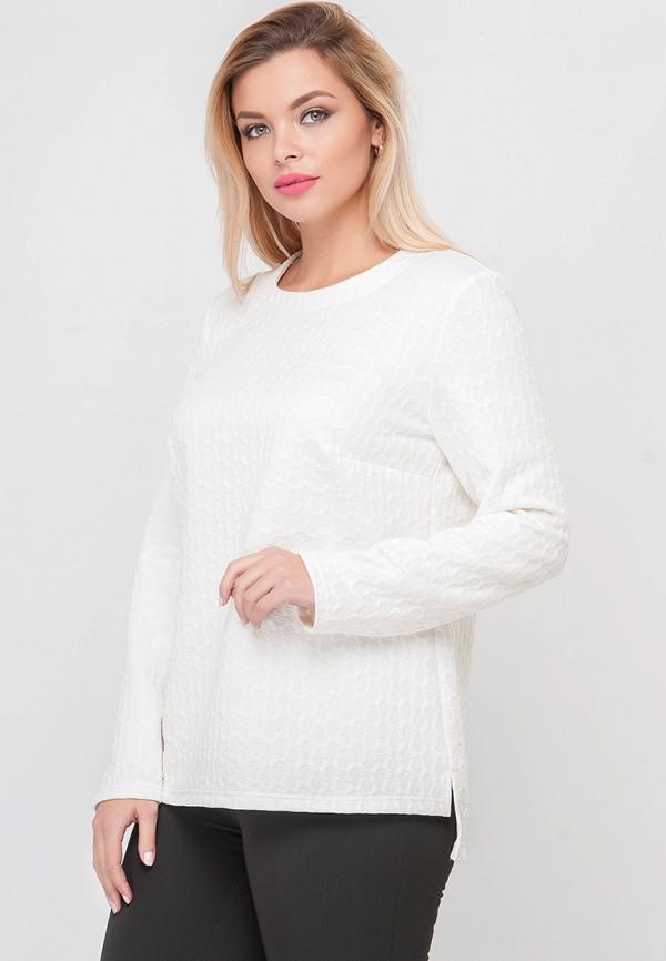 женский джемпер limonti, белый