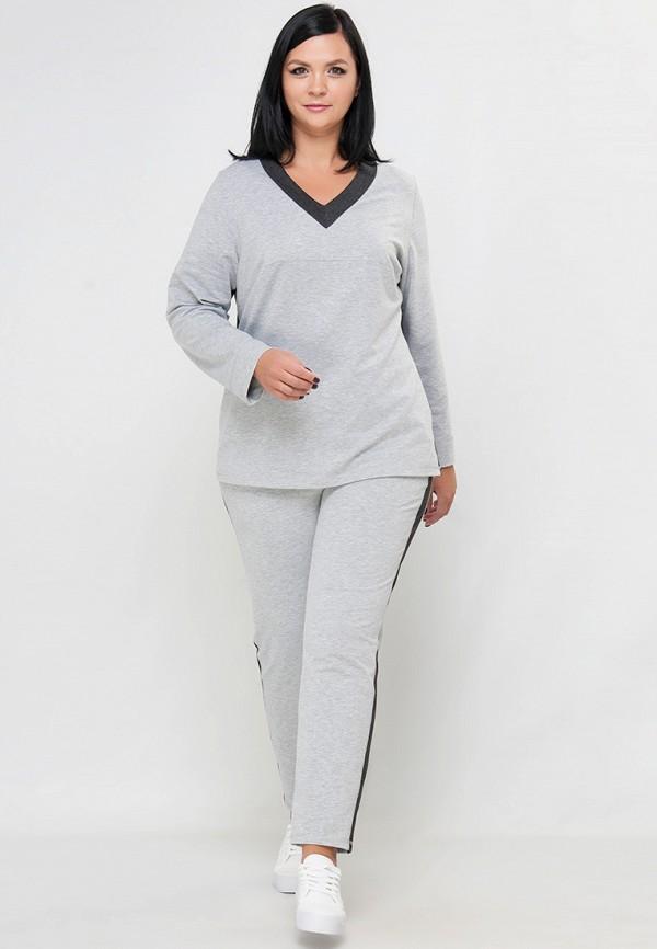 женский спортивные спортивный костюм limonti, серый