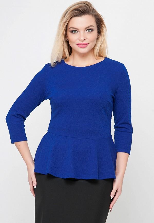 женская блузка limonti, синяя