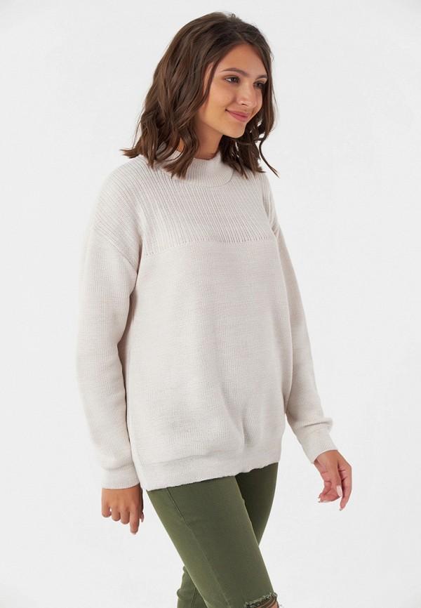 женский свитер fly, бежевый