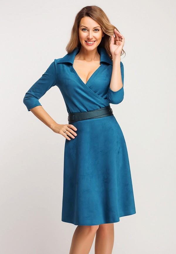 женское повседневные платье giulia rossi, голубое