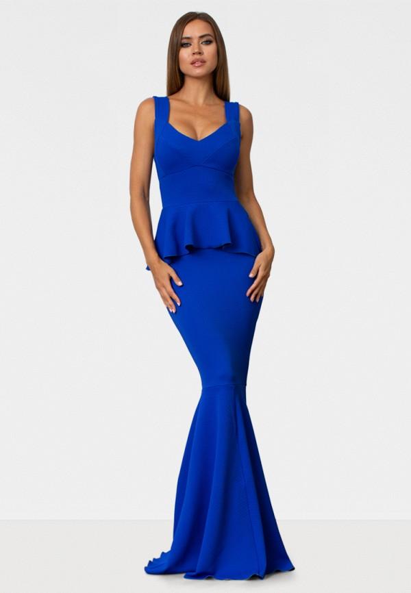 женское вечерние платье zerkala, синее