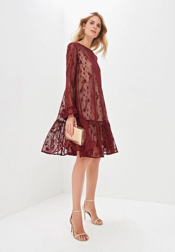 Платье Aelite Aelite  бордовый фото