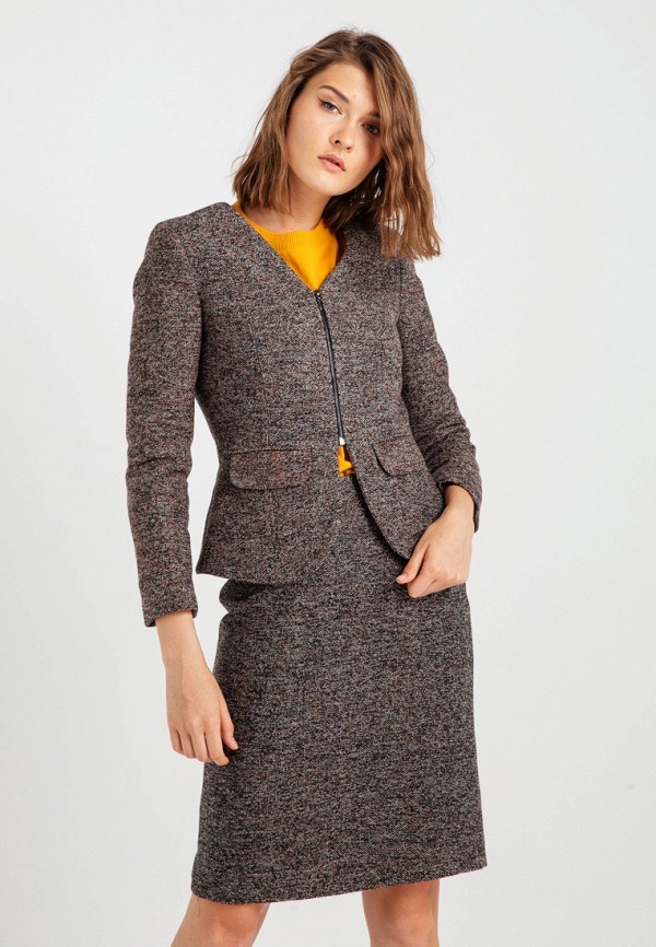 женский жакет bgn, серый