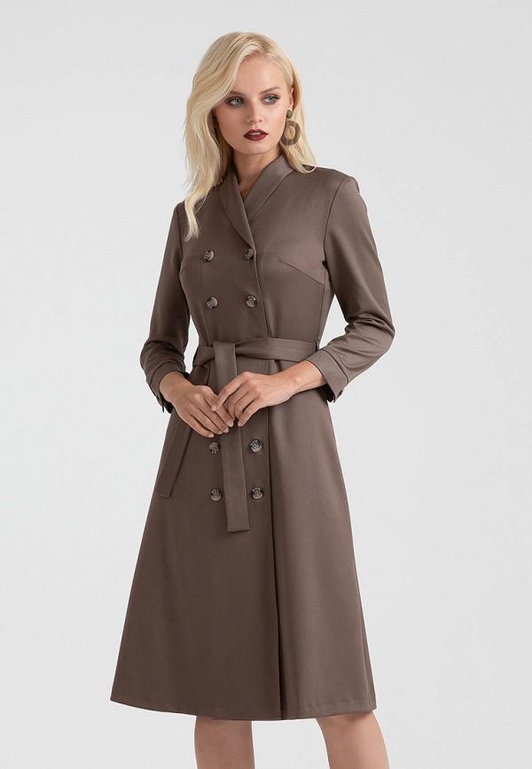 Купить Платье Lova, mp002xw1gyks, коричневый, Осень-зима 2018/2019