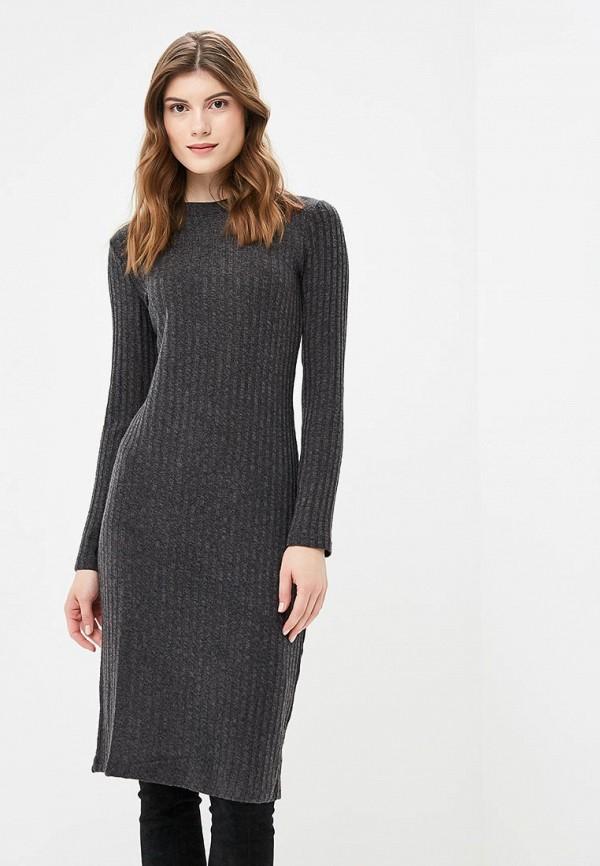 Платье Incity, mp002xw1gyvm, серый, Осень-зима 2018/2019  - купить со скидкой