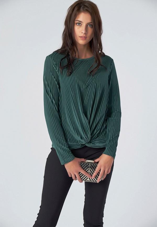 женская блузка fly, зеленая