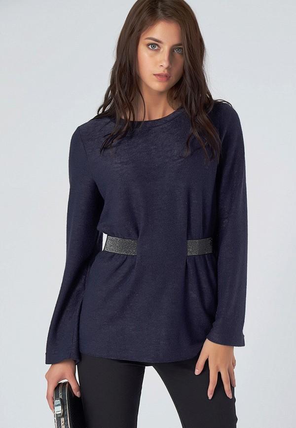 женская блузка fly, синяя