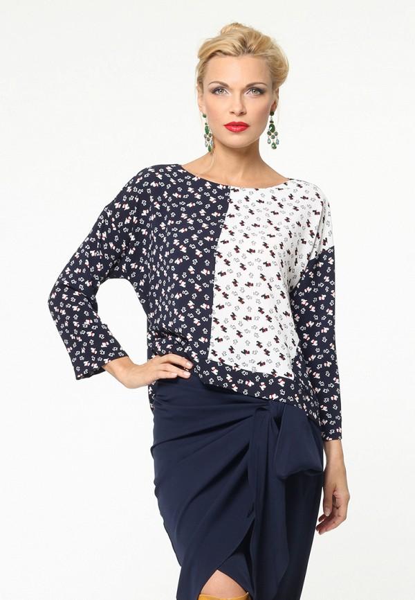 женская блузка kata binska, синяя