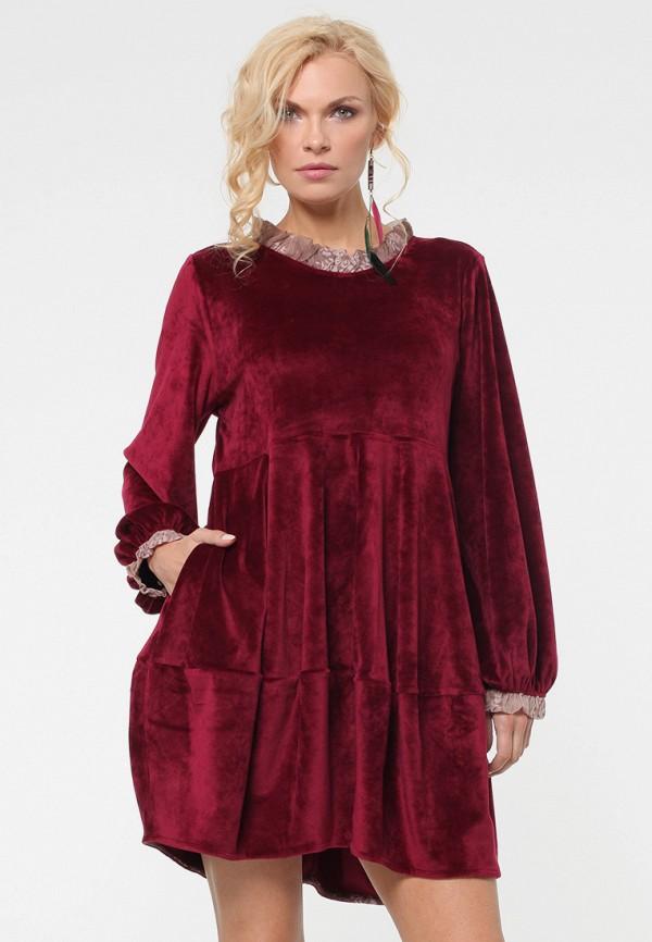 Купить Платье Kata Binska, BEKA, mp002xw1gyz4, бордовый, Осень-зима 2018/2019