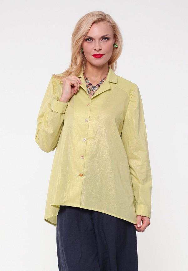 женская рубашка kata binska, желтая