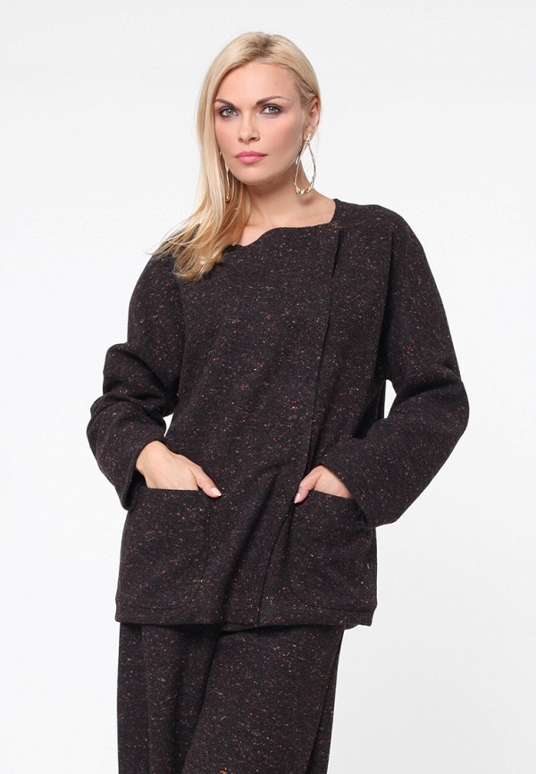 Купить Жакет Kata Binska, ORA, mp002xw1gyzc, коричневый, Осень-зима 2018/2019