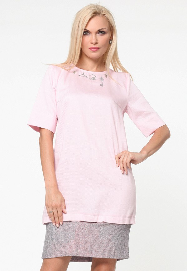 женское платье kata binska, розовое