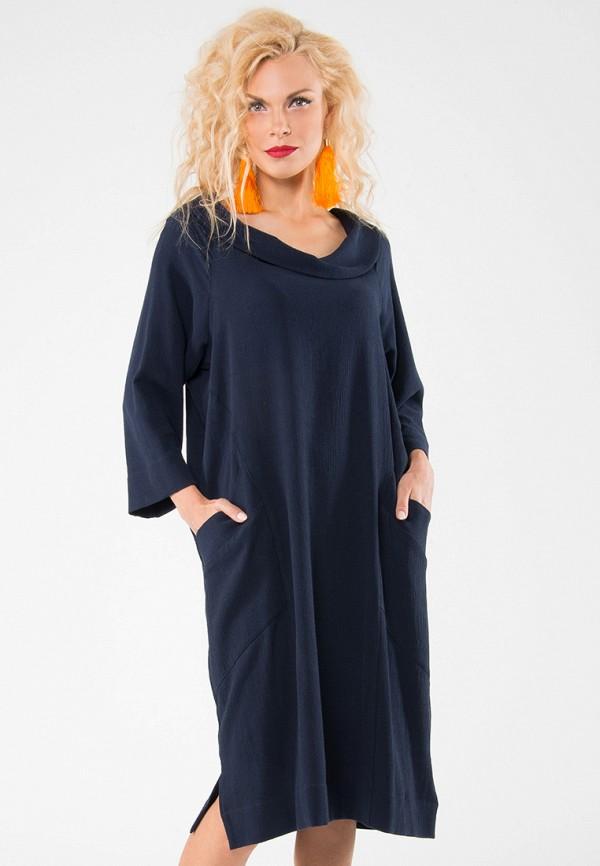 Купить Платье Kata Binska, DEEP, mp002xw1gyzi, синий, Осень-зима 2018/2019