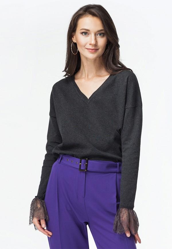 женский пуловер vilatte, серый