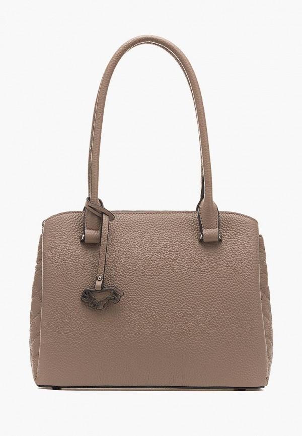 женская сумка labbra, коричневая