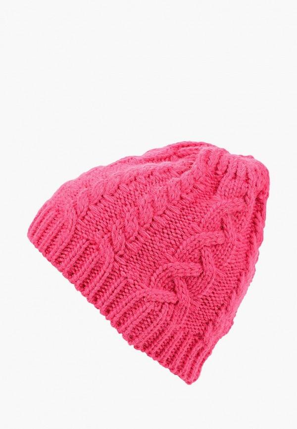 женская шапка ruxara, розовая