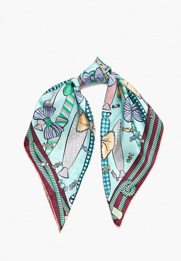 женский платок eleganzza, бирюзовый