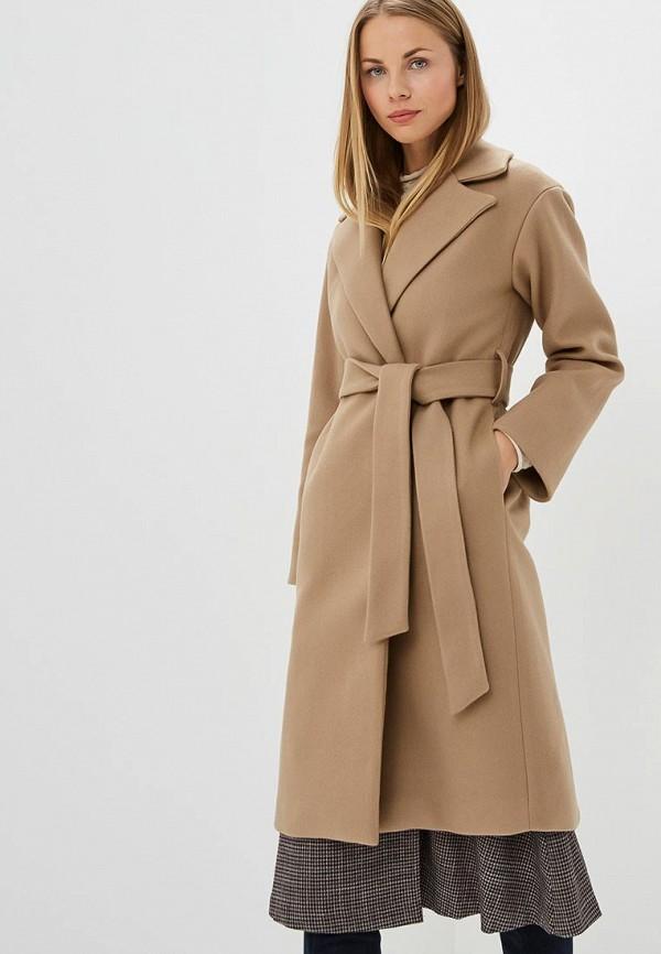 женское пальто self made, бежевое