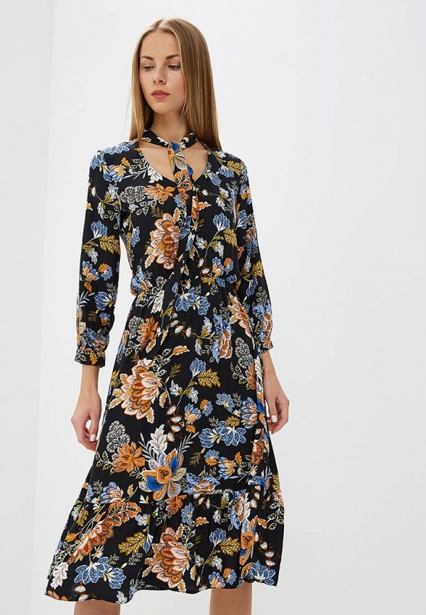 Платье Top Secret Top Secret MP002XW1GZQQ black choker sleeveless crop top