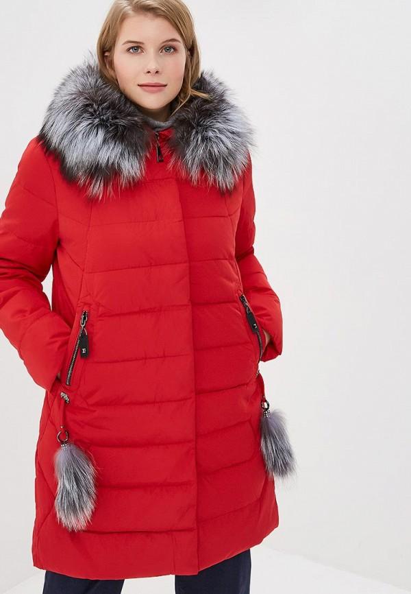 женская куртка winterra, красная