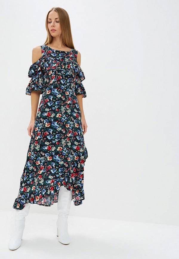 Платье Top Secret Top Secret MP002XW1GZUT black choker sleeveless crop top