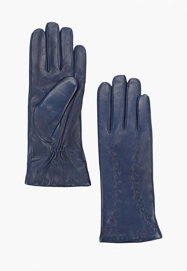 женские перчатки dr.koffer, синие