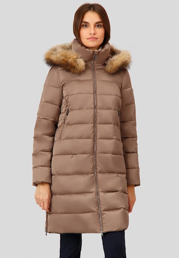Купить Пуховик Finn Flare, mp002xw1gzy7, коричневый, Осень-зима 2018/2019