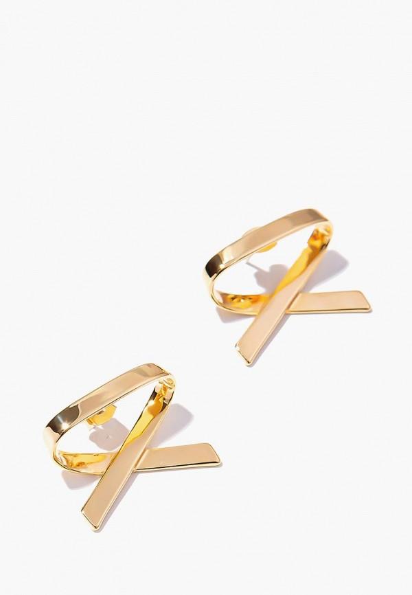 Купить Серьги Exclaim, mp002xw1h01k, золотой, Осень-зима 2018/2019