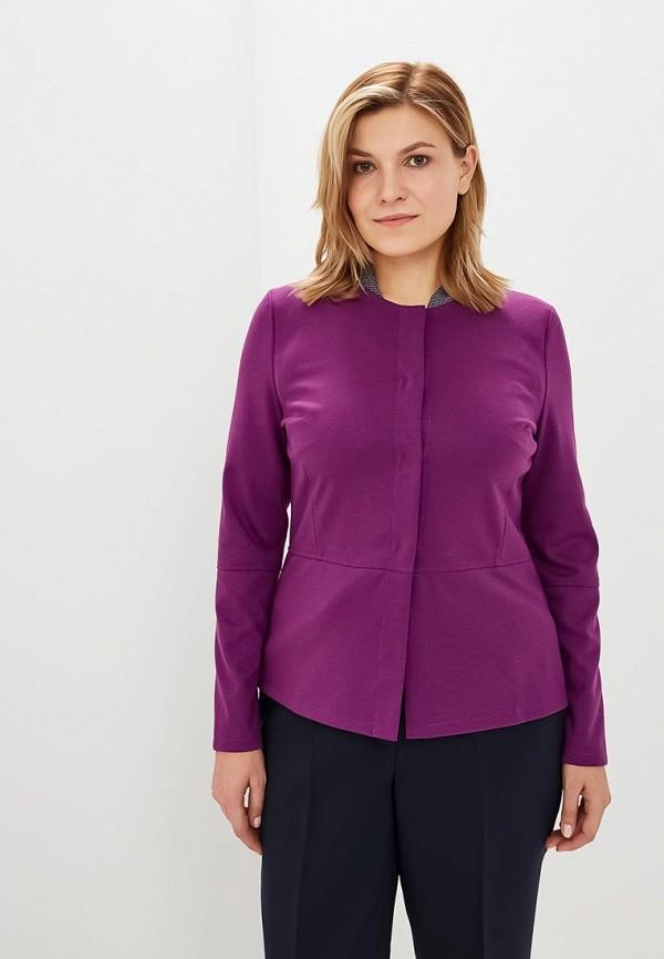 Купить Жакет Virgi Style, mp002xw1h055, фиолетовый, Осень-зима 2018/2019