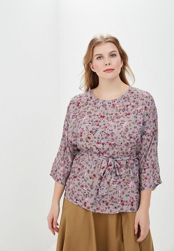 женская блузка virgi style, бежевая