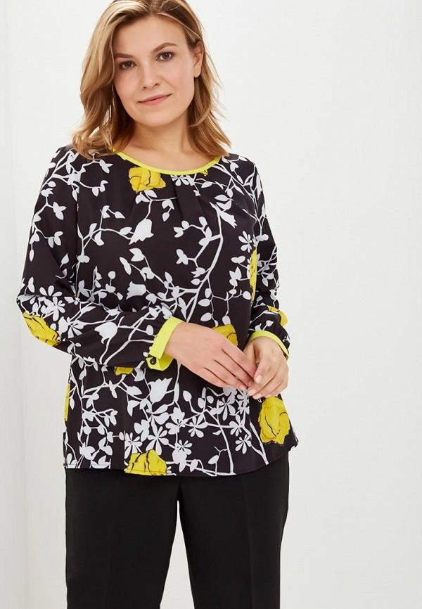 женская блузка virgi style, черная