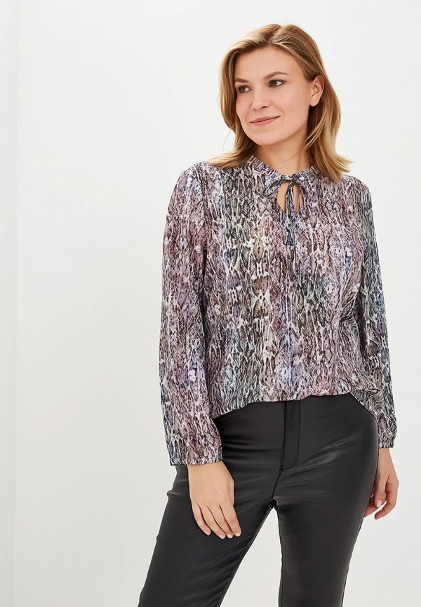 женская блузка virgi style, разноцветная