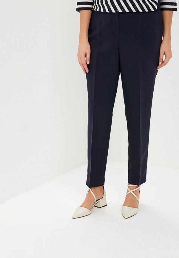 женские классические брюки virgi style, синие