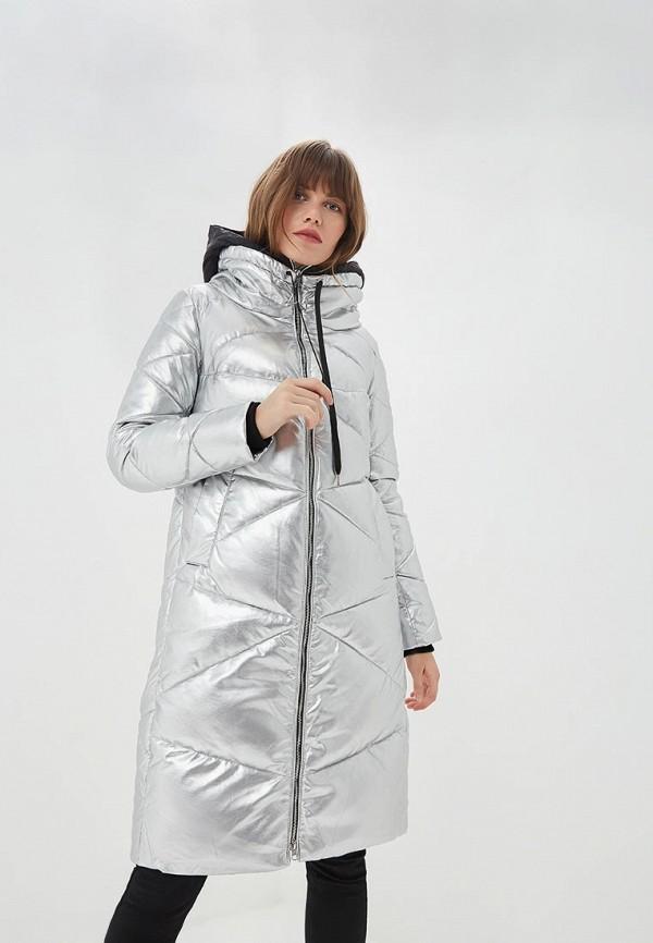 женская куртка la biali, серебряная