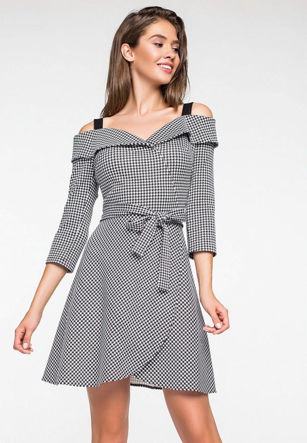 Купить Платье itelle, mp002xw1h082, серый, Осень-зима 2018/2019