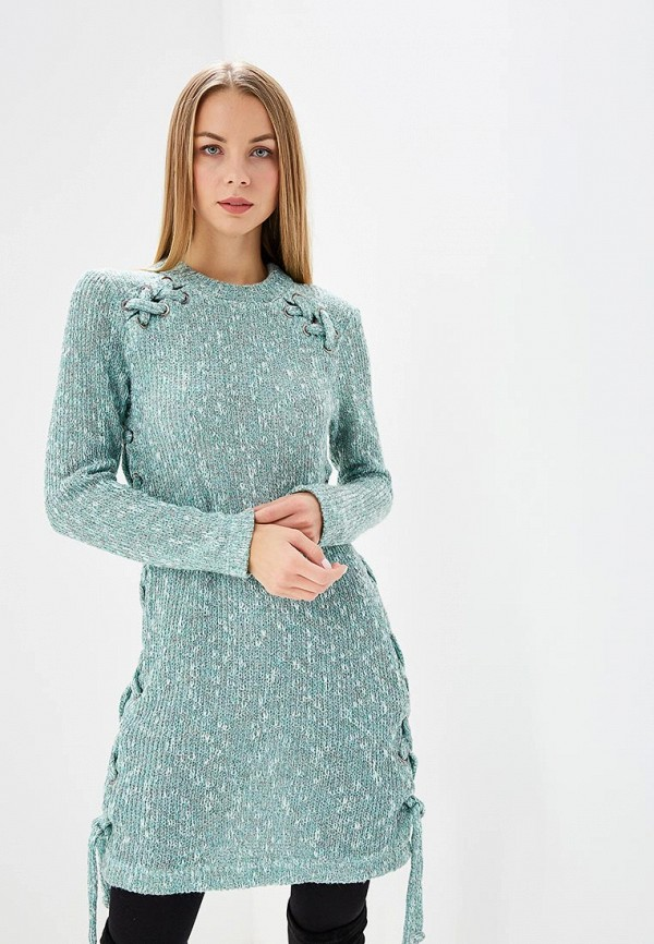 Купить Платье Tantino, mp002xw1h0bs, бирюзовый, Осень-зима 2017/2018