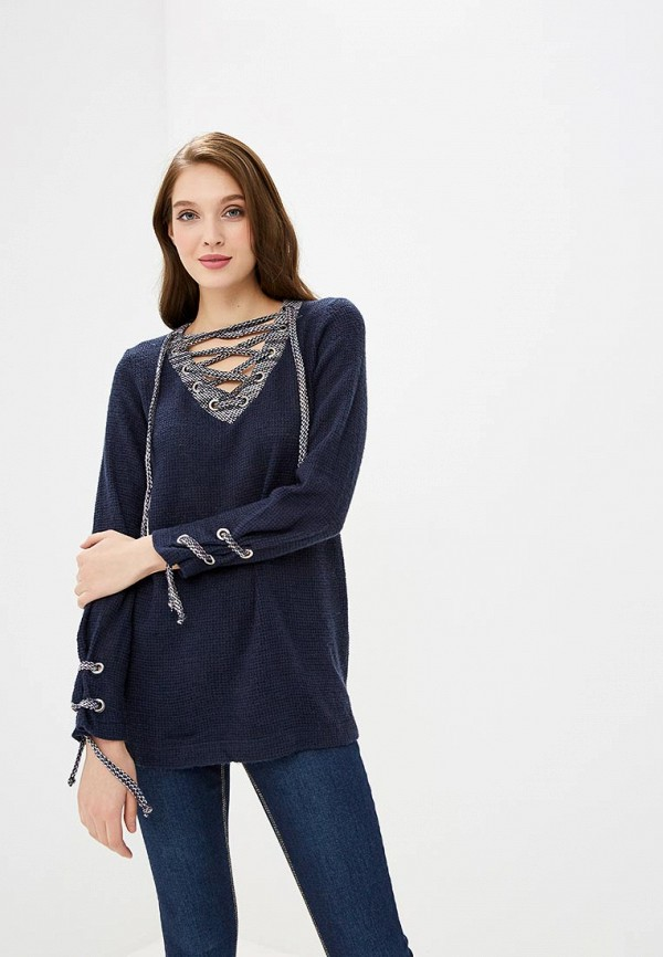 женский пуловер tantino, синий