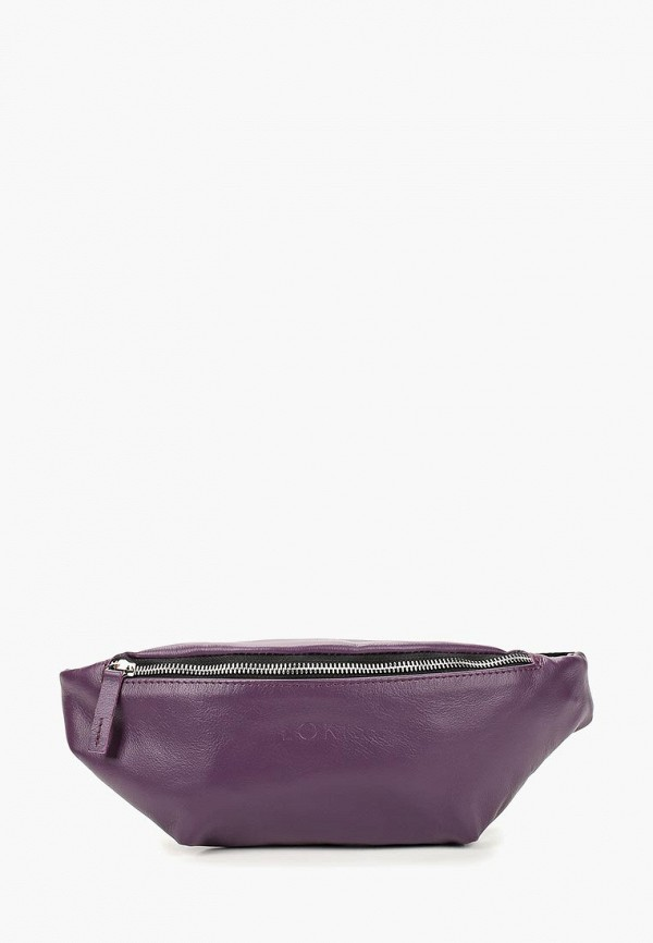 женская сумка lokis, фиолетовая