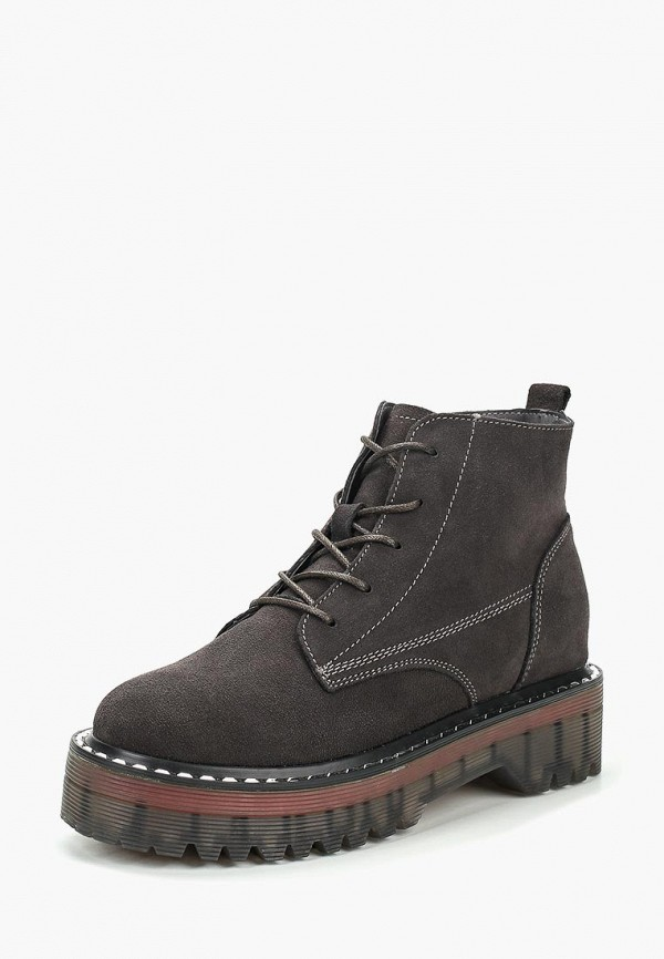 Купить Ботинки Sprincway, mp002xw1h0mm, серый, Осень-зима 2017/2018