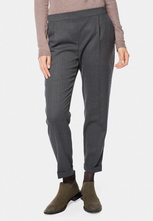 женские классические брюки mr520, серые