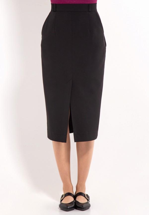 женская прямые юбка bessa, черная