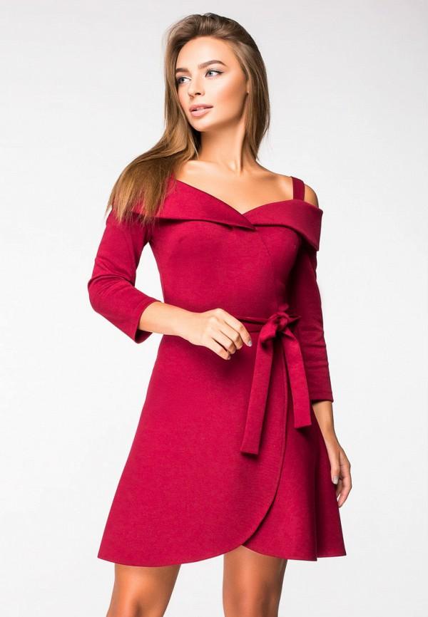 Купить Платье itelle, mp002xw1h0t7, красный, Осень-зима 2018/2019