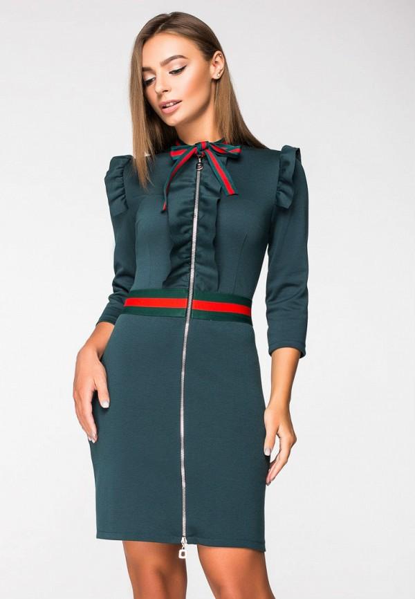 Купить Платье itelle, mp002xw1h0t9, зеленый, Осень-зима 2018/2019