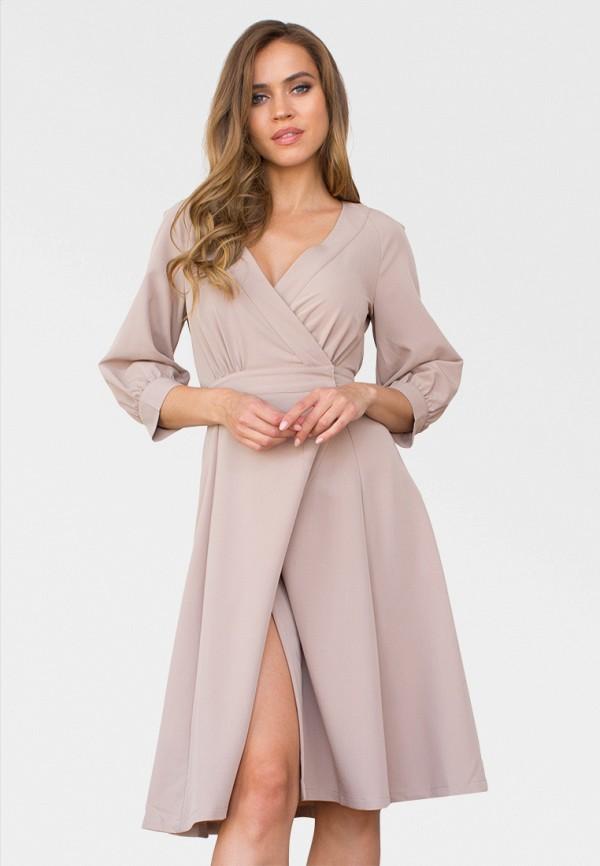 женское платье zerkala, бежевое