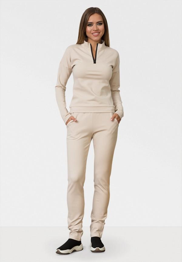 женский спортивные спортивный костюм zerkala, бежевый