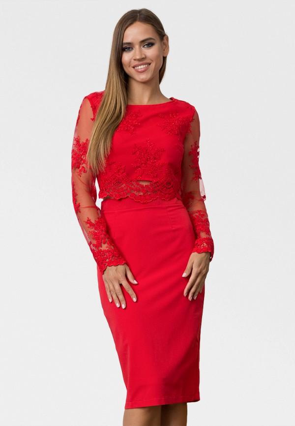 женский костюм zerkala, красный