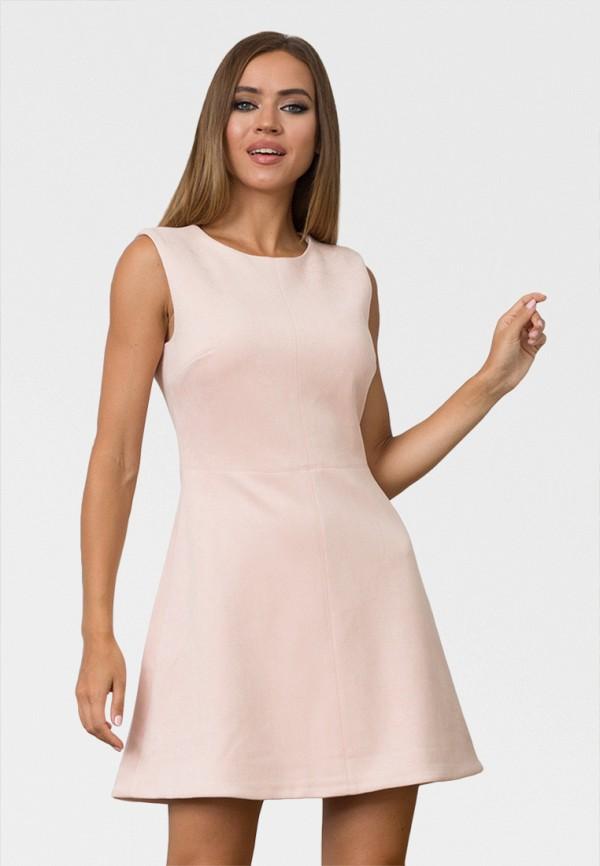 женское повседневные платье zerkala, розовое
